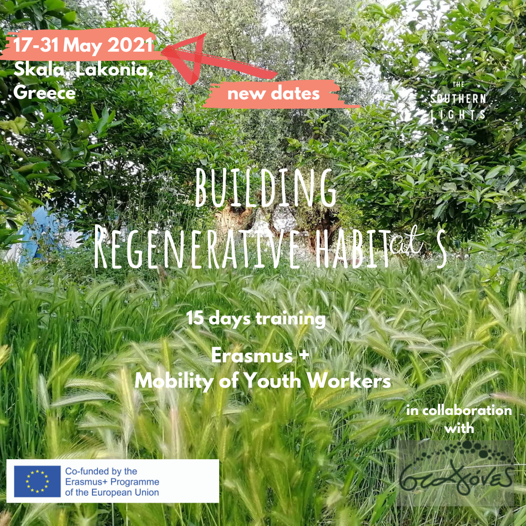 Building regenerative habitats Erasmus Plus program