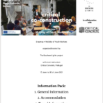 Critical CoConstruction Info Pack